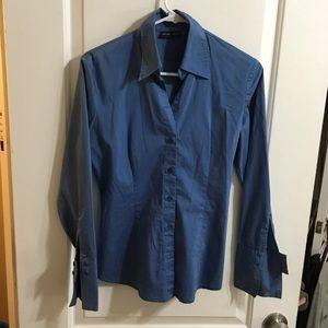 New York & company Blue shirt